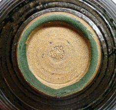 1970'S Brother Bruno Laverdiere Studio Pottery Floral Bowl Northwest Penland | eBay