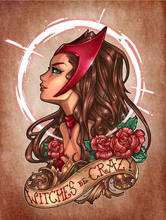 Wanda Maximoff / Scarlet Witch by Tim Shumate