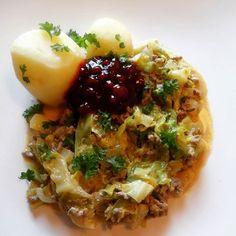Edel's Mat & Vin : Kjøttgryte med nykål og karri !