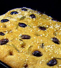 Whole Wheat Olive Flatbread