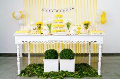 Batizado Amarelo e Branco | Mimos Provence