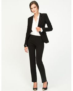 Women's pants suit for job interview | Job Interview Attire ...