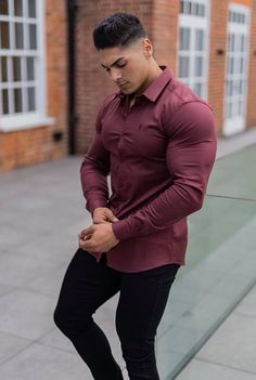 Business Casual Outfits, Business Fashion, Best Casual Shirts, Formal Men Outfit, Cool Hairstyles For Men, Indian Men Fashion, Stylish Mens Outfits, Mode Masculine, Good Looking Men