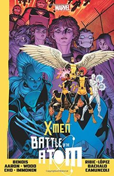 X-Men: Battle Of The Atom, 2014 The New York Times Best Sellers Hardcover Graphic Books winner, Brian Michael Bendis and others #NYTime #GoodReads #Books