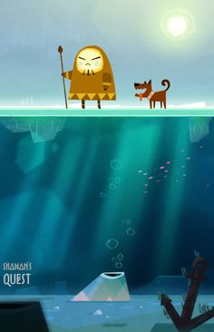 Shaman's Quest #animation #inuit