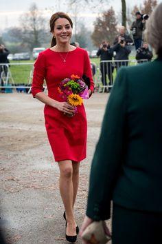 Kate Middleton, Duchess of Cambridge, visits Norfolk.