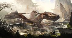 Colonized city by ~Min-Nguen on deviantART