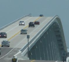 Sanibel Island Bridge :), because it means I have finally arrived