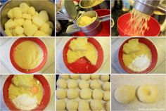 Things that make happy: Silesian potato dumplings / dumplings (Kluski śląskie) Make Happy, Dumplings, Food Styling, Mashed Potatoes, Nom Nom, Food And Drink, Low Carb, Eggs, Vegetarian