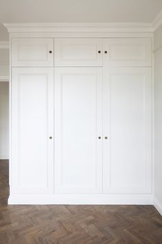 Putney project #custom #joinery #wardrobes #victorian #moulding #detailing with LED lights inside Alcove Wardrobe, Bedroom Built In Wardrobe, Closet Built Ins, Bedroom Closet Design, Wardrobe Storage, Wardrobe Doors, Wardrobe Closet, Closet Designs, Closet Storage