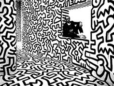Keith Haring Art - 80's pop culture icon - Fashion Style Blog