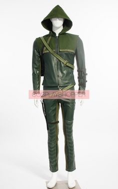Deluxe Green Arrow Cosplay Costume