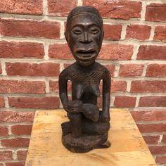 African Statue | Maternity | Congo/Kongo/ art artwork statues folk art statuette tribal artwork wood carving artifacts woman| art lover gift #AfricanFolkArt #statuette #AfricanWoodCarving #TribalArtwork #AfricanWomanStatue #AfricanArtwork #AfricanArt #AfricanStatues #AfricanAmericanArt #maternity