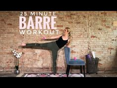 Youtube Workout Videos, Barre Workout Video, Cardio Barre, Home Workout Videos, Pilates Workout, Fitness Workouts, Fun Workouts, At Home Workouts, Short Workouts