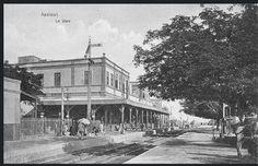 محطة قطار اسيوط اوائل القرن الماضي