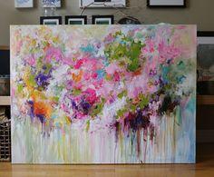 FOR jsawicki0409 ORIGINAL abstract painting Abstract par artbyoak1