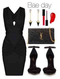 """catch me"" by loversin on Polyvore featuring Yves Saint Laurent, Brixton, Gucci and Burberry"