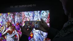 CES 2016 - 8K TVs Are Coming to Market, and Your Eyeballs Aren't Ready on video.wired.com