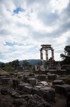 Vanessa Yuen: Delphi... Gods, Oracles, Myths and the Pleistos Valley - there's something fantastic about where nature meets architecture.