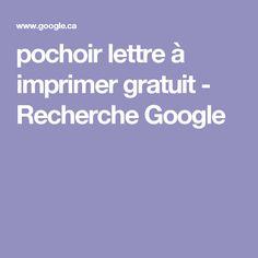 pochoir lettre à imprimer gratuit - Recherche Google