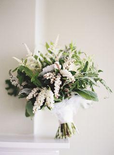 Simple wedding bouquet