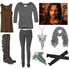 """Aragorn"" by soundofinevitability on Polyvore"