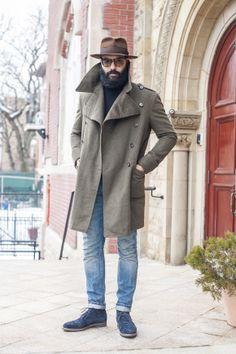 Overcoat by Angel BESPOKE #angelbespoke #overcoat #hats
