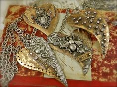 Tattered Adornments-Diana Frey: Love Is