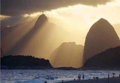 Cristo Redentor sits atop Corcovado Mountain in the Tijuca Forest National Park overlooking Rio de Janeiro, Brazil.