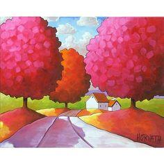 pink autumn: Catherine Horvath Buchanan