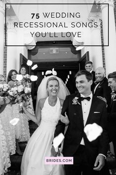 Get some inspiration for choosing your wedding recessional music—from classic tunes to modern hits, check out this list of 75 wedding recessional songs. Wedding Music Recessional, Wedding Reception Music, Wedding Dance Songs, Wedding Playlist, Wedding Shot, Dream Wedding, Modern Wedding Songs, Country Wedding Songs, Best Wedding Songs