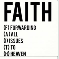 Bible Verses About Faith: faith acronym image