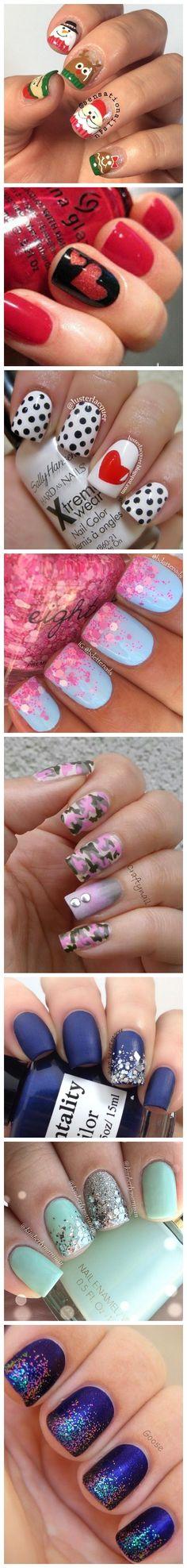 Nail Art Ideas and Designs http://hubz.info/58/cute-nail-art-design