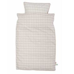 Ferm living - øko sengetøj - harlekin grey