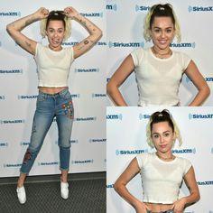 #MileyCyrus stopped by the#SiriusXM studiosin LA to promote her new single Malibu! • • • • • #MileyCyrus parou pelos estúdios da SiriusXM em LA para promover seu novo single Malibu!
