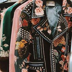 Gucci's floral jacket