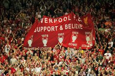 LFC-Support and believe Liverpool History, Liverpool Fans, Liverpool Football Club, Ynwa Liverpool, This Is Anfield, You'll Never Walk Alone, Christmas Bulbs, Believe, Holiday Decor