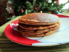 Eggnog Pancakes (Gluten-Free)