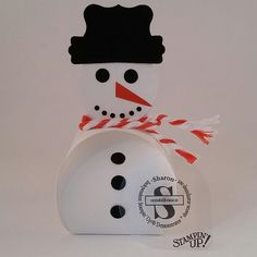 Snowman treat box