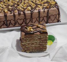 Tort de biscuiti si crema de ciocolata