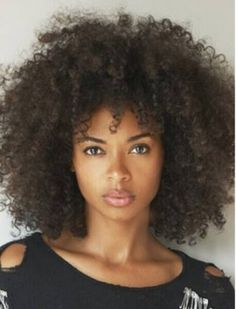 Long Afro-curly capless constructed synthetic hair wig - aliwigs.com