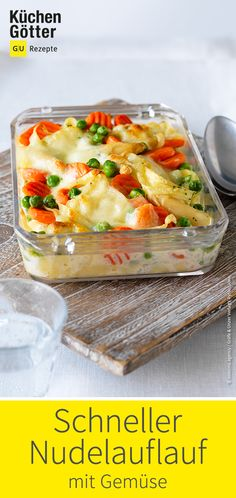 Great recipe for quick pasta bake with vegetables. Great recipe for quick pasta bake with vegetables. Chicken Recipes For One, Chicken Recipes Dairy Free, Healthy Chicken Recipes, Veggie Recipes, Pasta Recipes, Great Recipes, Salad Recipes For Dinner, Healthy Salad Recipes, Vegetable Soup Healthy