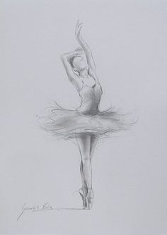 ORIGINAL pencil drawing 12 x 8 on WHITE paper of by EwaGawlik Would love to try this myself: