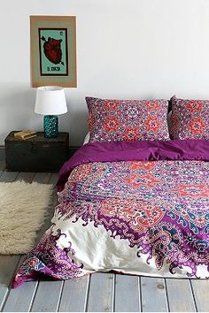Magical Thinking Medallion Duvet Cover
