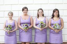 Purple Wedding purple bridesmaid dresses