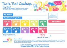 HealthyChart, incentives, trying new foods