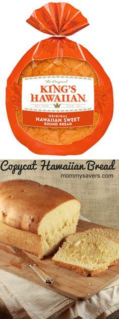 Copycat Hawaiian Bread Recipe #recipes #copycat