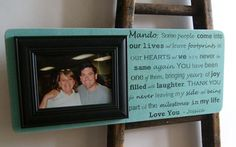 Custom Frame 9x22 Fathers Day Picture                                  by DellaLucilleDesigns on Etsy