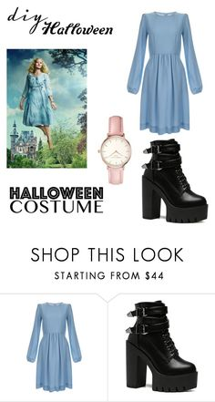 """DIY Emma Bloom Costume"" by geeksandnerds ❤ liked on Polyvore featuring Goat, Topshop, halloweencostume and DIYHalloween"