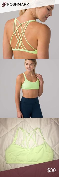 Lululemon Free To Be Zen Bra Lululemon Free To Be Zen Bra // Size: 10 // lemon lime color // reposhing - didn't fit & only tried on once! // previous post from canceled order. Make me an offer! ✨🍋 lululemon athletica Intimates & Sleepwear Bras